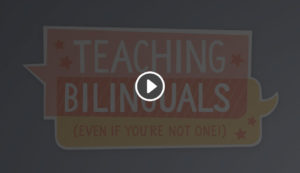 Teaching Bilinguals (Even if You're Not One): A CUNY-NYSIEB Webseries